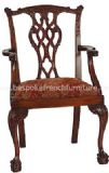 Lion Head Carver Chair